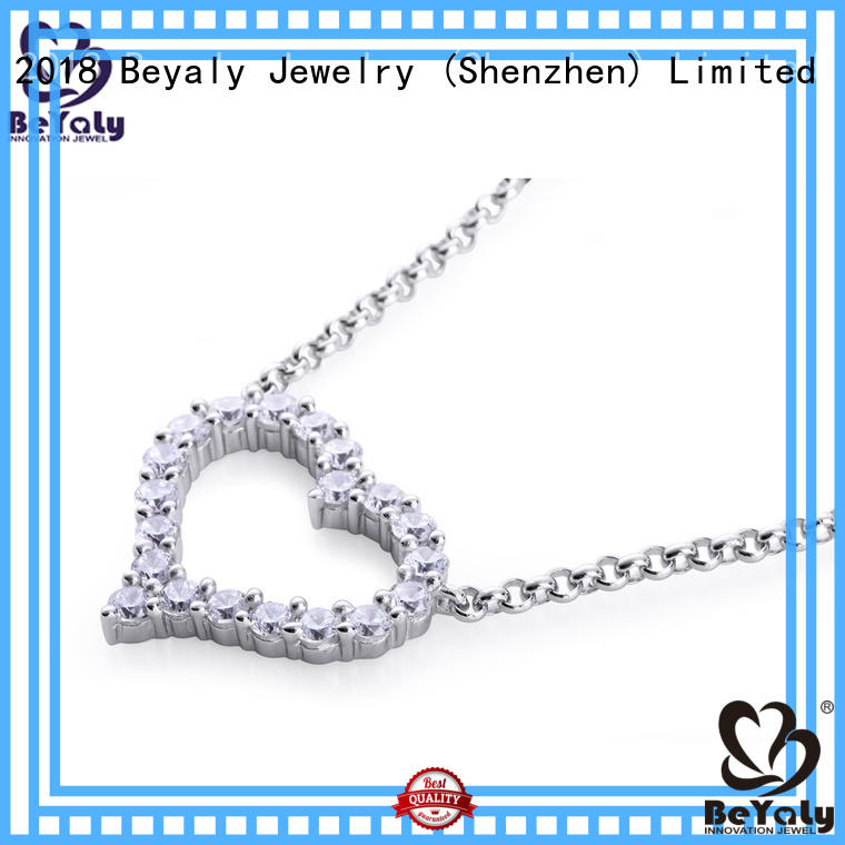 chains butterfly custom dog necklace initial natural BEYALY Brand
