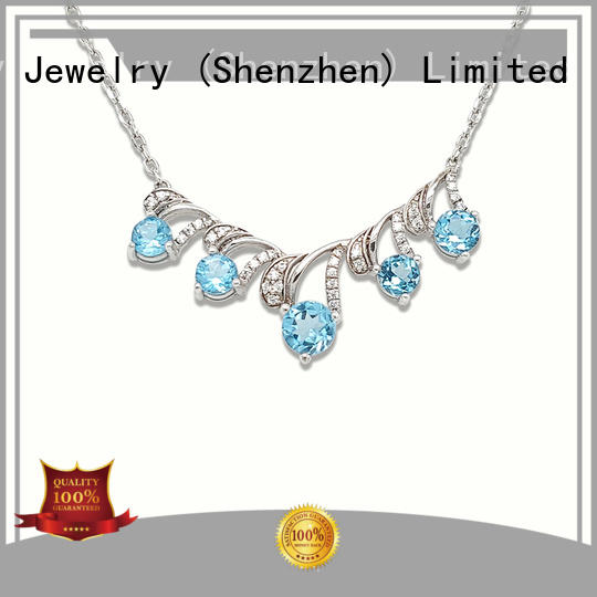 BEYALY unique silver pendant necklace with good price for girls