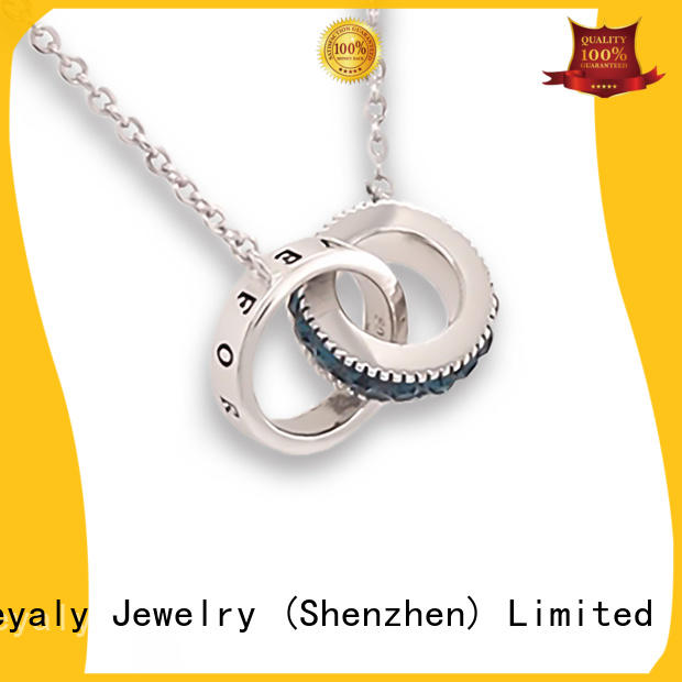 BEYALY natural dog tag necklace sets for wife