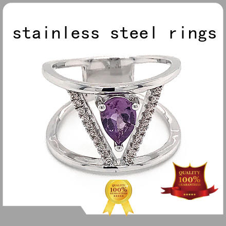 BEYALY Wholesale gold inital ring for business for men
