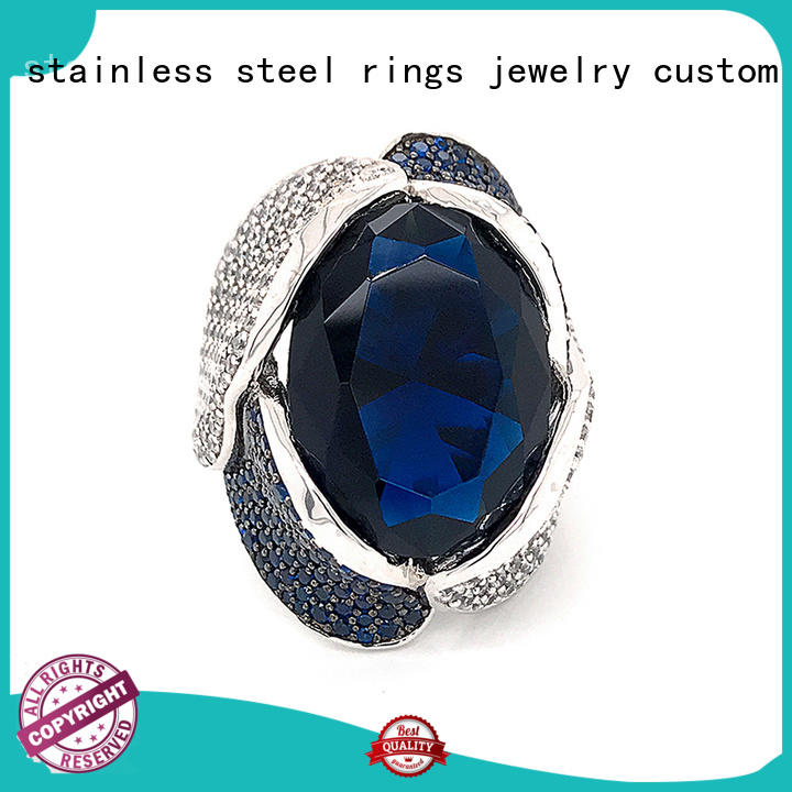BEYALY diamond initial ring online for daily life
