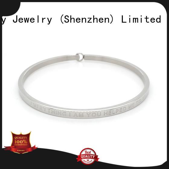 BEYALY fashion silver bangle bracelets company for ceremony