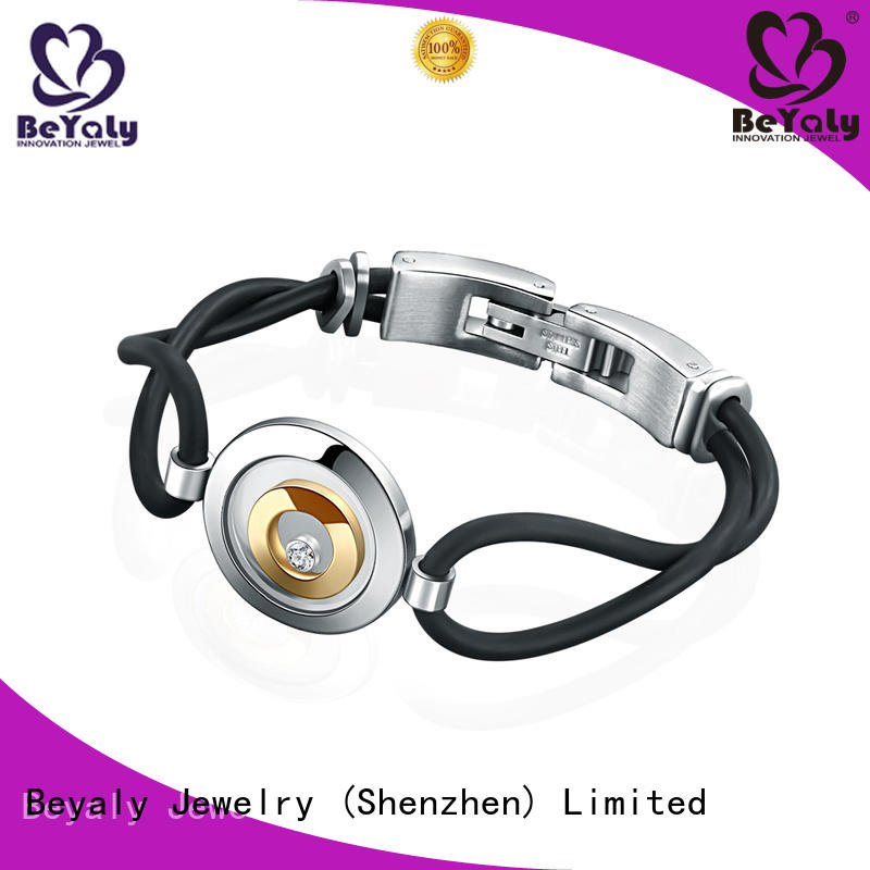 Best sterling silver cuff bracelet logo manufacturers for advertising promotion