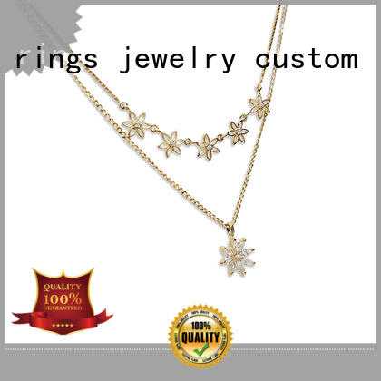 unique silver pendant necklace steel on sale for girls
