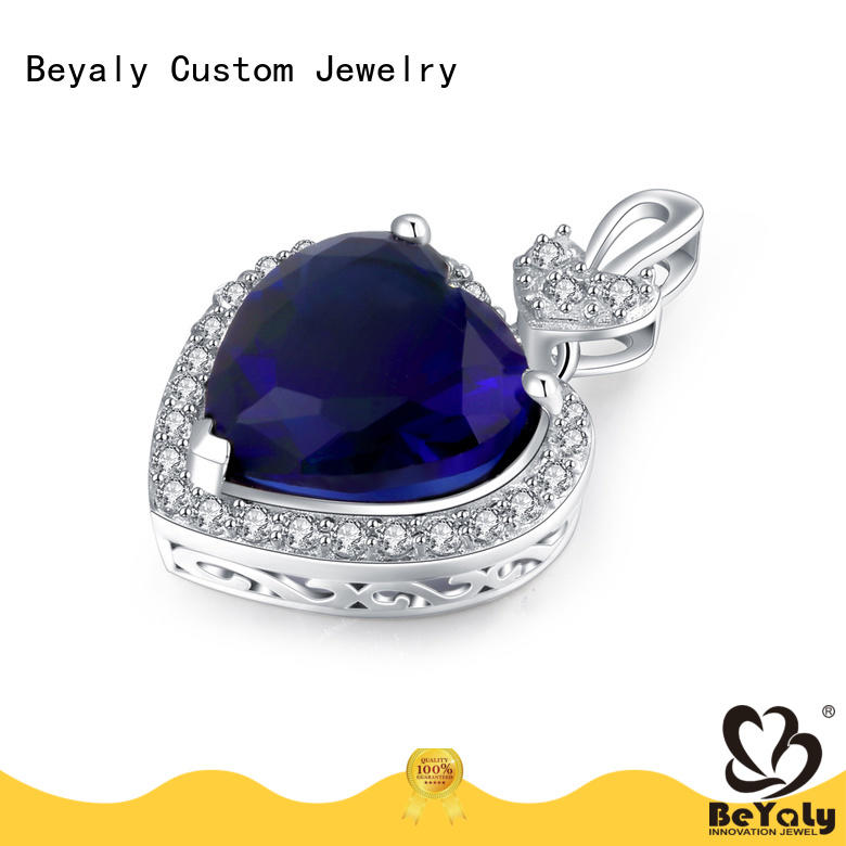 BEYALY blue 9k gold charms manufacturer for ladies