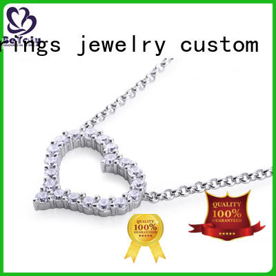BEYALY natural dog tag necklace sets for girls