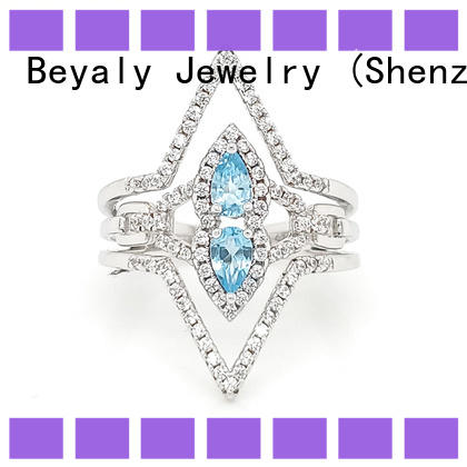 BEYALY zircon most popular wedding ring settings manufacturers for daily life