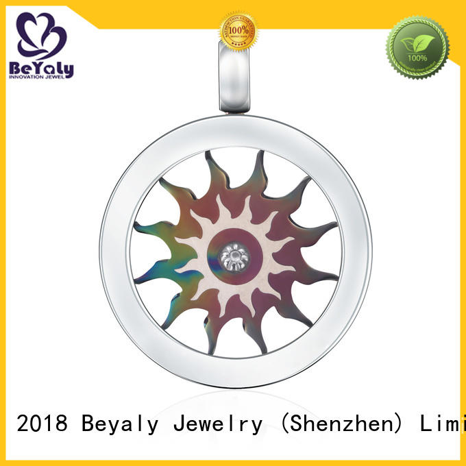 fashion blank pendant round promotion