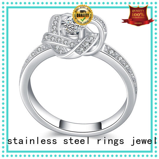 Latest platinum diamond band ring silver Suppliers for daily life