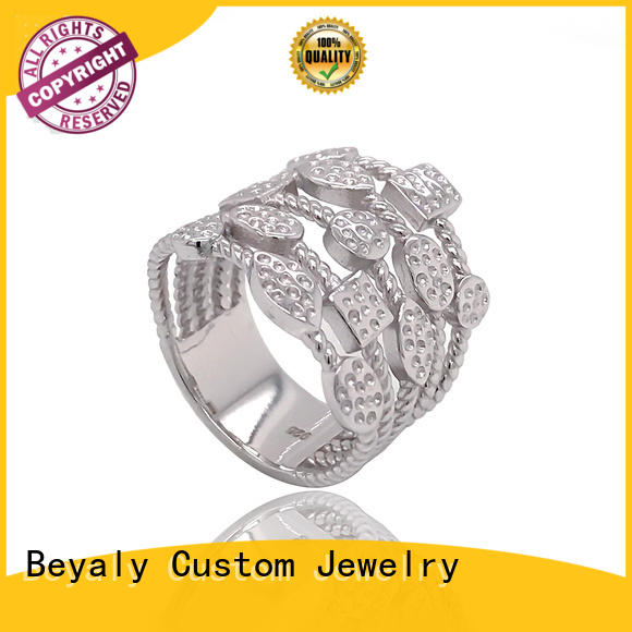 BEYALY numerals most popular halo engagement rings Supply for daily life