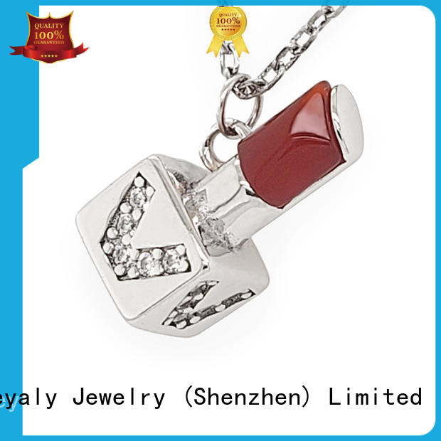 BEYALY New silver clover pendant Suppliers for wife