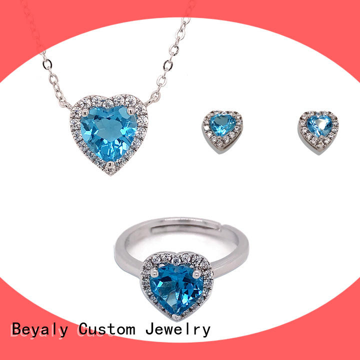 New ladies fashion jewelry sets manufacturers for business gift
