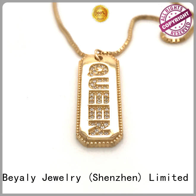 BEYALY stock dog necklace on sale for women