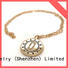 Top 14k solid gold charm bracelet or Suppliers