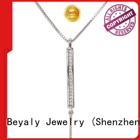 BEYALY tag dog tag necklace for business for wife
